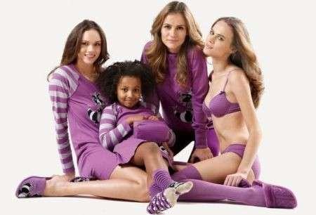 Benetton, i pigiami colorati per tutta la famiglia