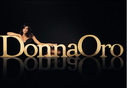 Elisabetta Canalis testimonial gioielli Donna Oro
