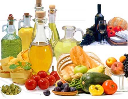 Dieta mediterranea prodotti
