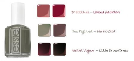 Smalti Essie: i colori più belli per l'inverno