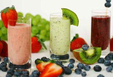 Depurare dopo le feste con i frullati di frutta