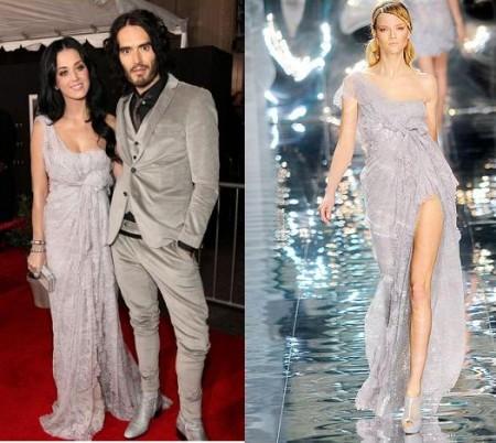 Katy Perry con un abito da sera Elie Saab