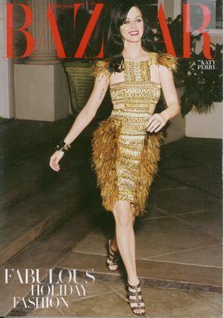 Katy Perry veste Gucci per Harper's Bazaar