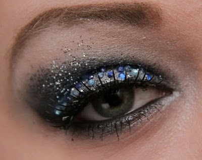 Look di Capodanno: make up glitterato