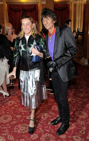 Miuccia Prada total look Miu Miu per il nuovo store a Londra!