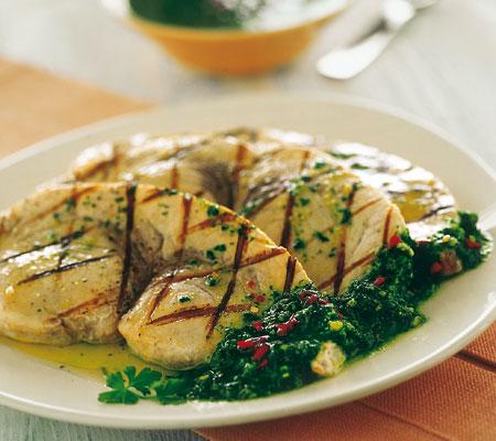 Ricette light: pesce spada al basilico
