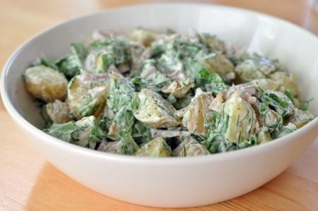 Ricette light: insalata patate e yogurt