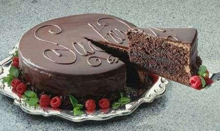 Ricette dolci: la Sacher torte