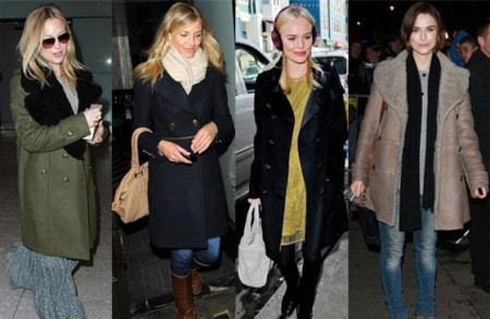 Burberry Prorsum: le star adorano trench e cappotti
