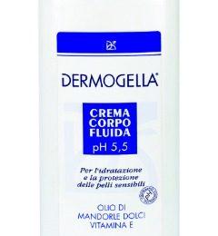 Crema corpo fluida Dermogella, velluto per la pelle secca