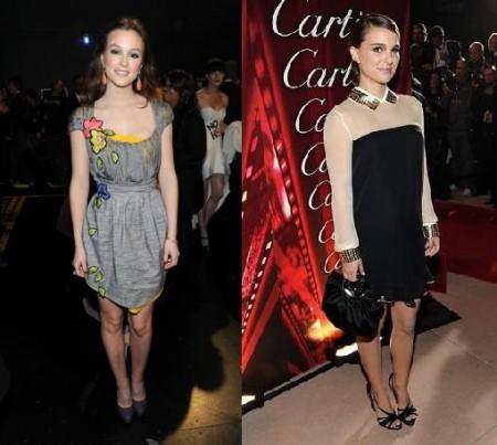 Vionnet: gli abiti di Leighton Meester e Natalie Portman