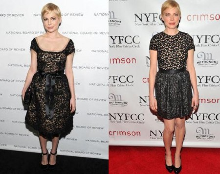 Michelle Williams looks
