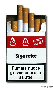 Pacchetto di sigarette