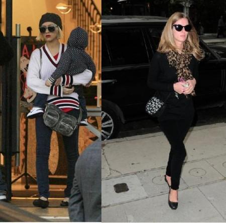 Ballerine Balenciaga per Christina Aguilera e Nicky Hilton