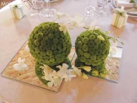 fiori matrimonio ricevimento