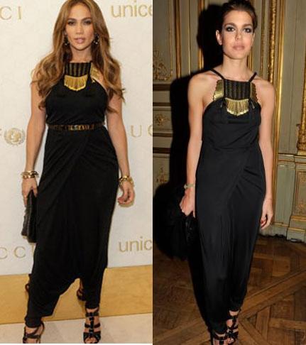 Abito Gucci: Jennifer Lopez o Charlotte Casiraghi?