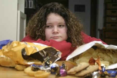 junk food obesità infantile