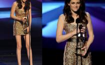 Kristen Stewart con un abito Reem Acra