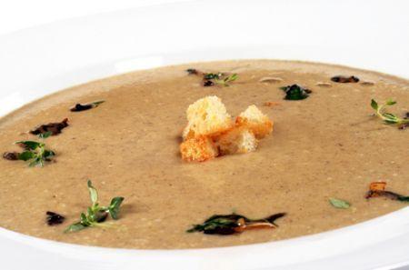 Ricette light: minestra con i funghi