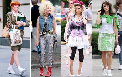 moda anni 80 look