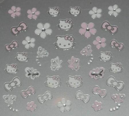 Manicure: gli stickers per unghie di Hello Kitty per Sephora