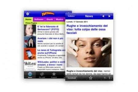 App per iPhone di Tuttogratis: le notizie più interessanti sempre con te