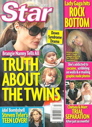 Angelina Jolie e Brad Pitt: i figli hanno la sindrome di Down?