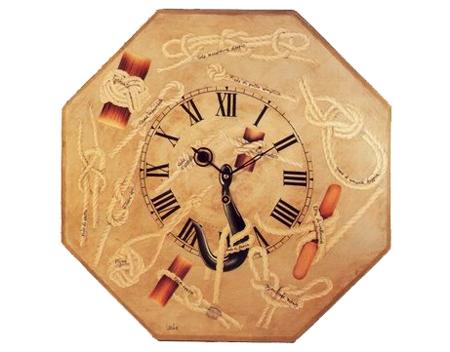 Decoupage: crea un orologio da marinaio