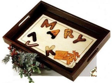 Decoupage su legno: un vassoio personalizzato