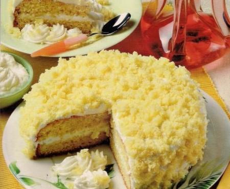 Festa della donna torta mimosa