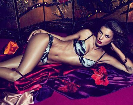 Elisabetta Canalis ancora testimonial di Roberto Cavalli Underwear