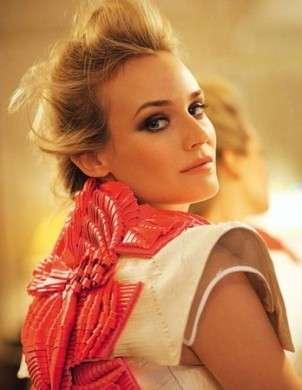 Diane Kruger veste l'haute couture per Madame Figaro