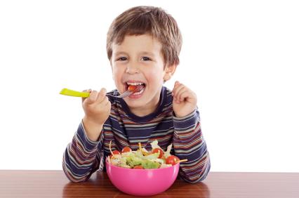 Dieta vegetariana, va bene anche per i bambini