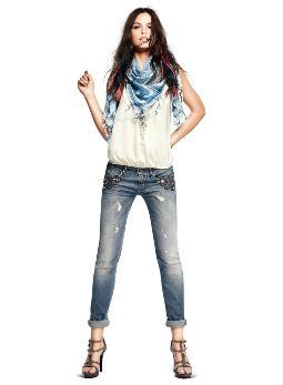 jeans liu jo sfrangiati