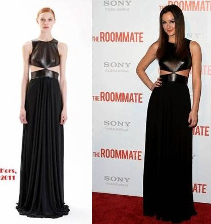 "Leighton Meester veste Michael Kors per ""The Roommate"""