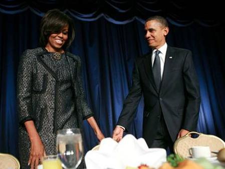 Michelle Obama sceglie ancora Moschino