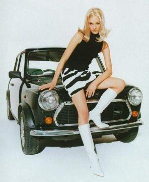 moda anni sessanta minigonna