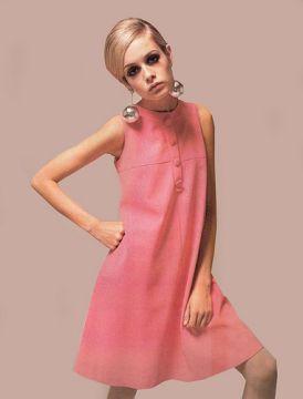 moda anni sessanta trapezio