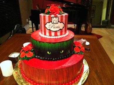 paris torta compleanno