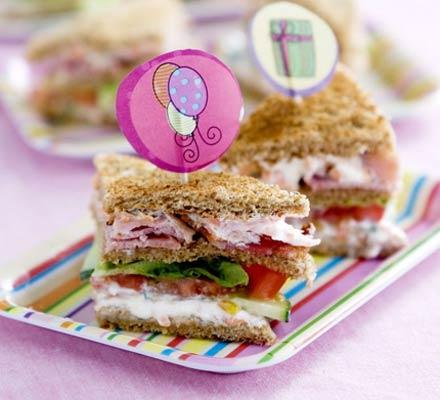 sandwich bambini colorati