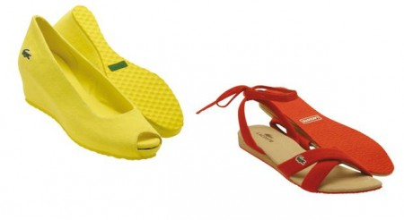 Le scarpe chic di Lacoste Chausseurs