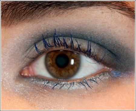 Trucco occhi: chic e moderno in blu