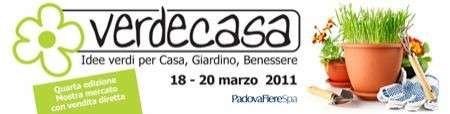 Giardinaggio e cura piante: fiera Verdecasa a Padova