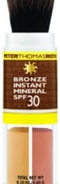 Make up, abbronzatura naturale con Bronze Instant Mineral
