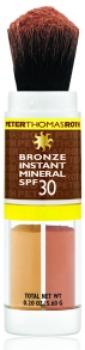 Make up, abbronzatura naturale con Bronze Instant Mineral