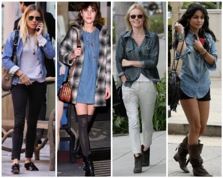 Camicia di jeans star