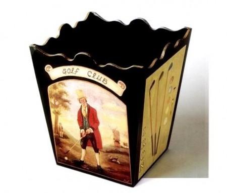Decoupage: spiegazioni passo a passo per decorare un cestino gettacarte