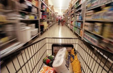 Igiene carrello supermercato
