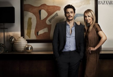 Harper's Bazaar: James Franco intervista Frida Giannini