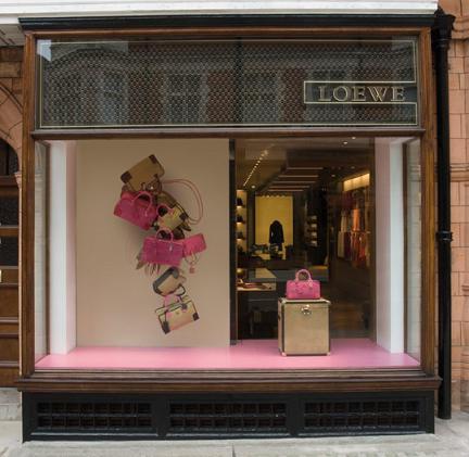 Loewe: nuova boutique a Londra